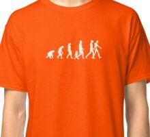 Human/Robot Evolution Classic T-Shirt