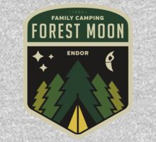 Forest Moon Camping One Piece - Long Sleeve