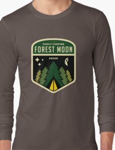 Forest Moon Camping Long Sleeve T-Shirt