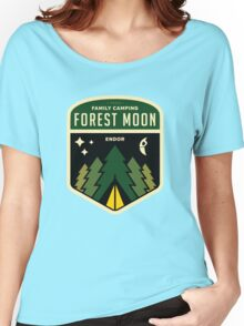 Forest Moon Camping Women's Relaxed Fit T-Shirt