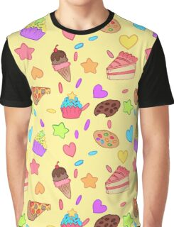 Junk Food Graphic T-Shirt
