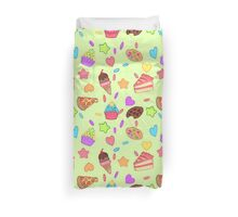 Junk Food Duvet Cover