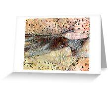 Sedimentary Rock Greeting Card