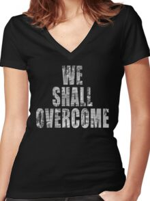 We Shall Overcome: March on Washington, 1963 II Women's Fitted V-Neck T-Shirt