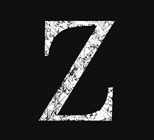 Zeta Greek Letter Symbol Grunge Style Unisex T-Shirt