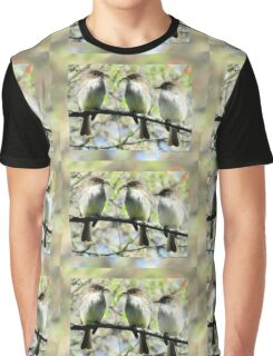 Little Brown Birds Of Spring Graphic T-Shirt