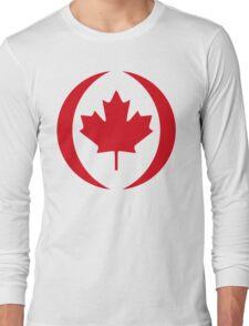 Canadian Flag 1.0 Long Sleeve T-Shirt