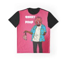cherry  bum Graphic T-Shirt