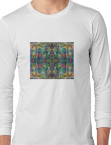 The Jungle Protector gorgeous vibrant intricate ink design Long Sleeve T-Shirt