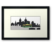 The Melbourne Lambda Tram Framed Print