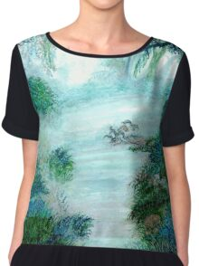 Mystic Lake Chiffon Top