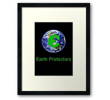 Earth Protectors Framed Print