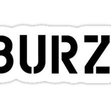 #Burzek Sticker