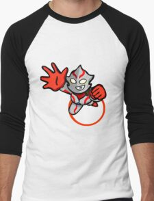 Ultraman Mebius [ Rise Up ] Men's Baseball ¾ T-Shirt
