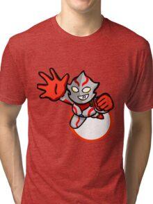 Ultraman Mebius [ Rise Up ] Tri-blend T-Shirt