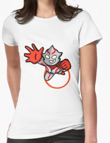 Ultraman Mebius [ Rise Up ] Womens Fitted T-Shirt