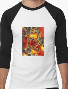 Paper Mosaic 205 Men's Baseball ¾ T-Shirt