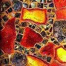 Paper Mosaic 205 by Dana Roper