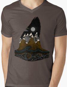 Wild Duck Spirit Totem Mens V-Neck T-Shirt