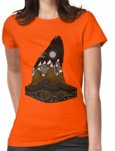 Wild Duck Spirit Totem Womens Fitted T-Shirt