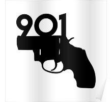 901 gun Poster
