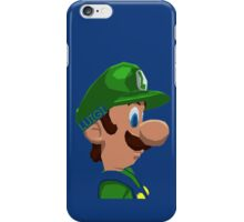 Mario's Brother iPhone Case/Skin