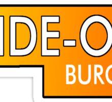Inside Out Burger Sticker