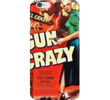 Gun Crazy - Film Noir Poster iPhone Case/Skin