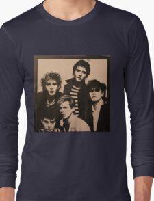 Vintage Duran Duran Cover Long Sleeve T-Shirt