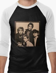 Vintage Duran Duran Cover Men's Baseball ¾ T-Shirt