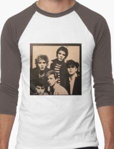 Vintage Duran Duran Cover Men's Baseball ¾ T-Shirt