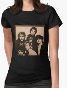 Vintage Duran Duran Cover Womens Fitted T-Shirt