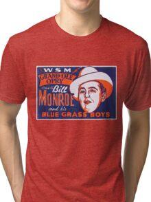 Bill Monroe Blue Grass Tri-blend T-Shirt