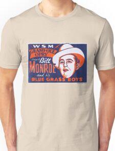 Bill Monroe Blue Grass Unisex T-Shirt