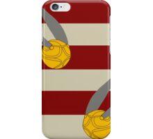 Harry Potter Quidditch Gryffindor Snitch Design iPhone Case/Skin