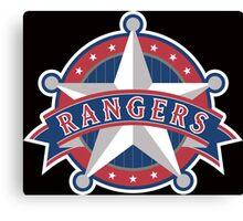 Texas Rangers Star Canvas Print