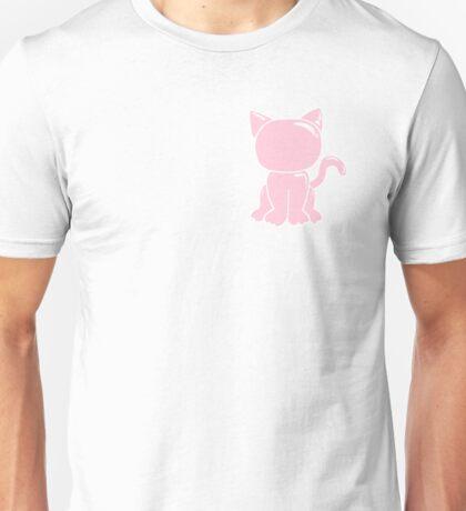 Pink Latex Kitten Unisex T-Shirt