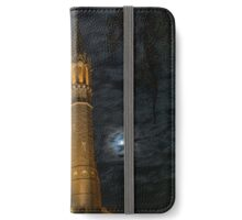 Cathedral under Moonlit Clouds iPhone Wallet/Case/Skin