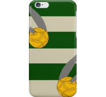 Harry Potter Quidditch Slytherin Snitch Design iPhone Case/Skin