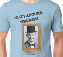 Stan Laurel Birthday Anniversary Unisex T-Shirt