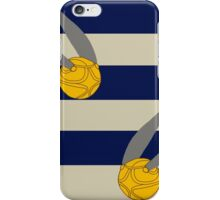 Harry Potter Quidditch Ravenclaw Snitch Design iPhone Case/Skin