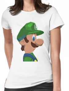 Mario's Brother Womens Fitted T-Shirt