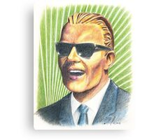 Max  Headroom Canvas Print