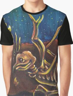 Avian Transmigration Graphic T-Shirt