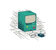 old console Photographic Print