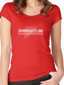 Spur Projects Women's Fitted Scoop T-Shirt