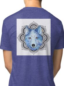 Winnie Blue  Tri-blend T-Shirt