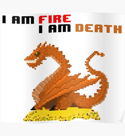 i am fire Poster