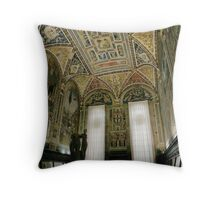 Siena Duomo Throw Pillow