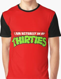 Teenage Mutant Ninja Thirties Graphic T-Shirt